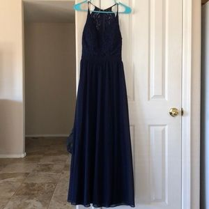Dresses & Skirts - DARK BLUE GOWN